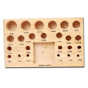 Dapping Block Wooden Stand