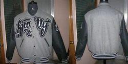 Grey Black Hood Varsity - Men''s