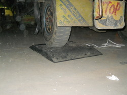 Axle weigh Pad
