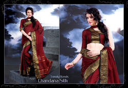 Occasion Wear Cotton Saree