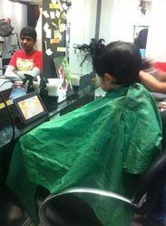 Both Male And Female Kids Hair Cutting