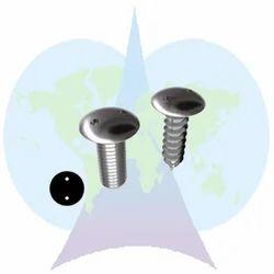 Parshva India Round Temper Proof Screw, Material Grade: Ss 304, Galvanized