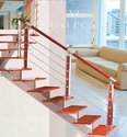 Stainless Steel and Wooden Balustrades