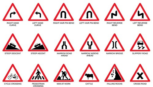 Railroad signs and meanings