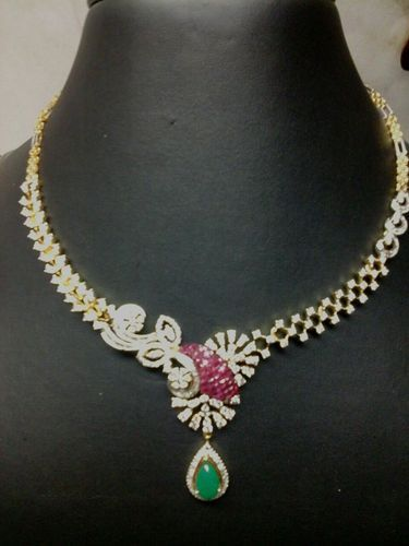 Diamond Necklace Royal Diamond Necklace Manufacturer