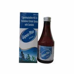 Cyproheptadine Hydrochloride Tricholine Citrate Sorbitol