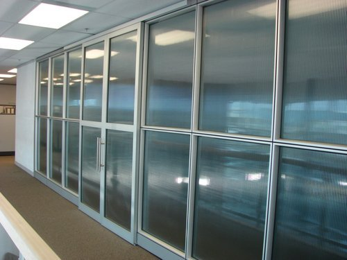 Aluminium Panel Office Partition