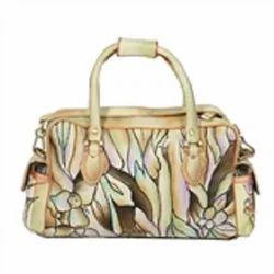 Vivid Tones Satchel Handbag