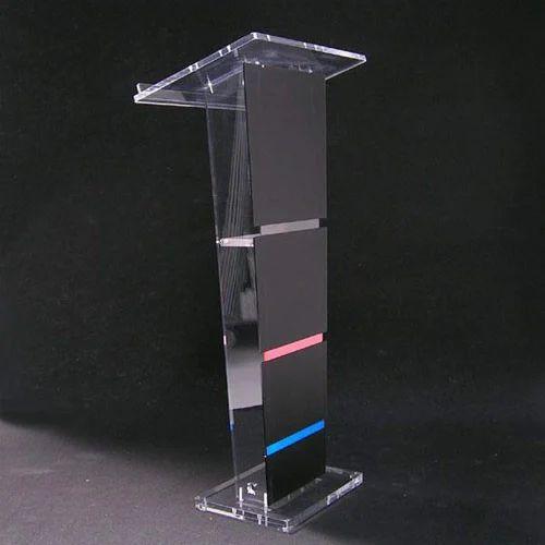 Black Acrylic Podium Rs 14900 Piece Gd Enterprise Id