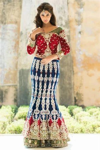 Bridal Wear Party Wedding Western Formal Wear Aishwarya Design