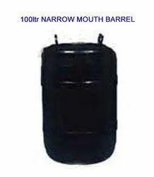 Narrow Mouth Barrel 100 Ltr