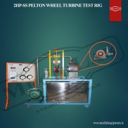 2HP-SS Pelton Wheel Turbine Test Rig