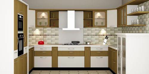 C Shaped Modular Kitchen 8 Square Modular Kitchens Contemporary