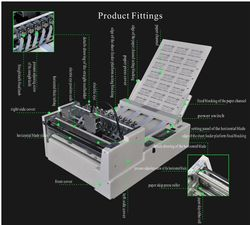 Fully Auto Vertical And Horizontal Sticker Cutting Machine