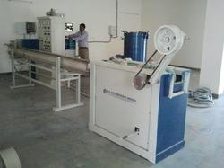 R.D.ENGINEERING WORKS PVC Tube Extruder, Capacity: 80kg/hr, 28kw