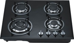 Black Burner Gas Stove