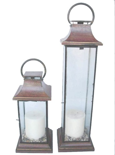 Iron Metal Floor Lantern