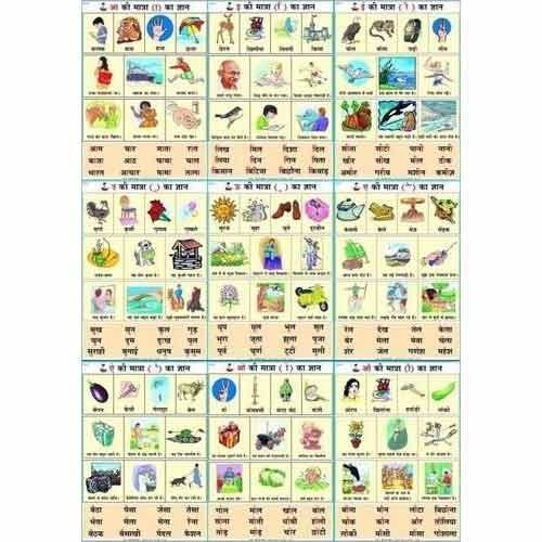 Hindi matra gyan chart at rs 150 pieces teaching charts id hindi matra gyan chart urtaz Images