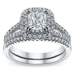 Gemone Diamonds 14k White Gold Diamond Engagement Rings Rs 40000 Piece Id 6797034588