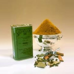 Curry Powder Cans (Madras Curry powder Tins)