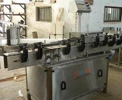 Automatic Paper Sticker Labeling Machine