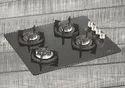 Vetro 4B 68 DX: Cast Iron Gas Hob