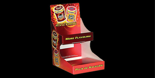 Point Of Purchase Item Floor Stand Unit Fmcg Products