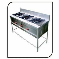3 Burner Cooking Range