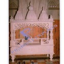 Indoor White Designer Marble Temple, For Home