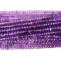 Amethyst African Faceted Beads