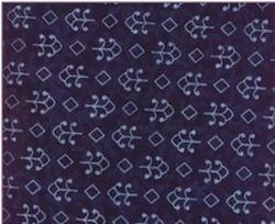 Indigo Print Fabric