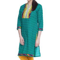 Quarter Sleeves Kameez