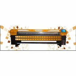 Konica Flex Konika 512i Solvent Printer