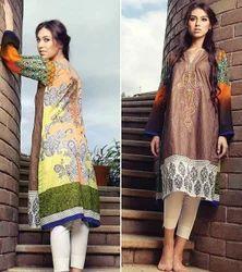 Printed Pakistani Suits