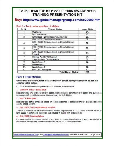 ISO 22000 Certification certification consultants in