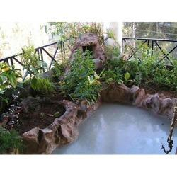 Artificial Terrace Rock Planter