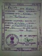 Emigration Clearance