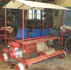 Self Propelled Light Weight Motor Trolley