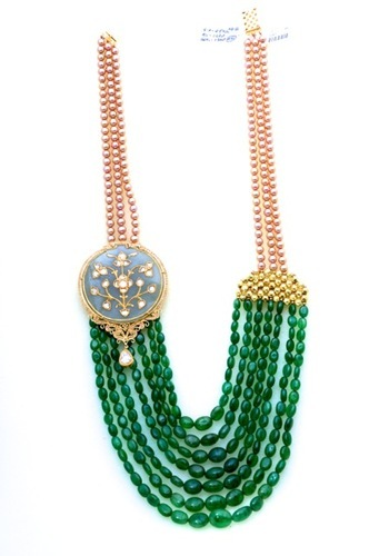 necklace products of paradise naga heirloom beads