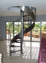 Stainless Steel Spiral Staircase