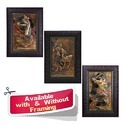 Rural Theme - Villagers - Repousse on Copper Sheet Home decoration frame