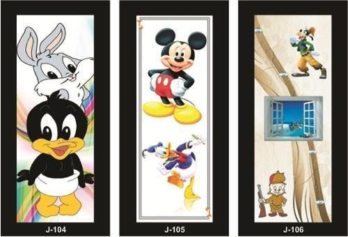 Cartoon Doors & Cartoon Doors at Rs 140 /square feet(s)   Laminate Door   ID: 7144701948