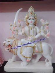 Marble Durga Ma Moorti