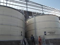 Industrial Fire Protection Water Storage Tanks