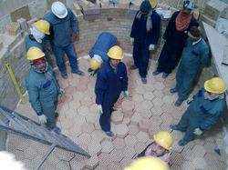 Manpower for Refractory Construction Services