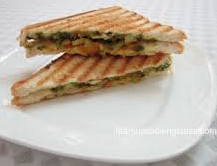 Indian Veg Panini Sandwiches