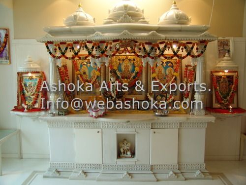 Marble Temples Carved Mandir Exporter From Udaipur