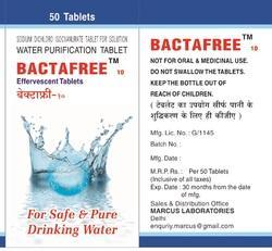 Bactafree Water Purification Tablet