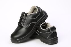 Polo Black safety shoes steel toe size: 9