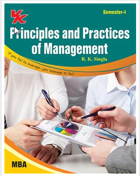 Principles And Practices Of Management Book - V  K  Global